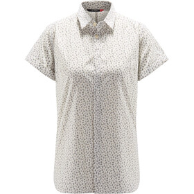 Haglöfs Idun T-shirt Dames, soft white flower
